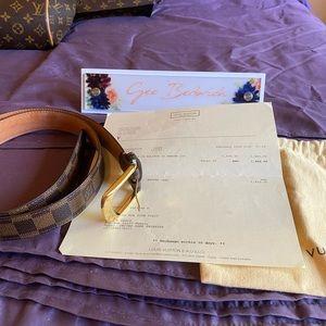 Louis Vuitton Ellipse Belt